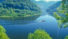 Prachtige vallei in Dordogne