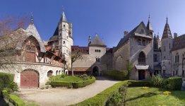 Chateau de la Rochepot in Pays Beaunois