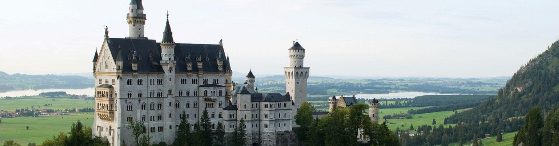 Banner foto Duitse Alpenroute Kasteel Neuschwanstein