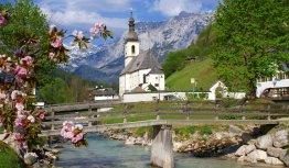 Kerkje in het Beierse Ramsau