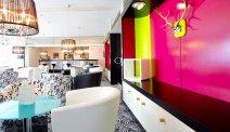 Kleurrijke bar