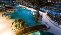 Het zwemcomplex van het hotel