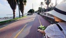 Het fietspad naar San Remo