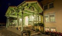 Entree van Hotel Linderhof