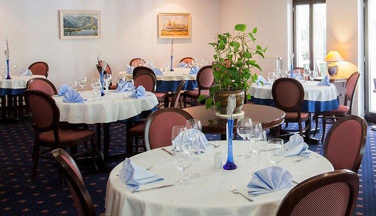 Het restaurant van Hotel Jezero