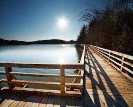 Het meer van Smartinsko