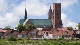 De kathedraal van Ribe