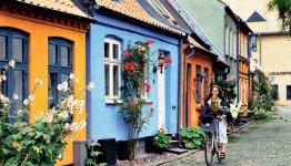 Mollestien Lane in Aarhus
