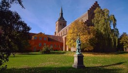 Standbeeld van Hans Christian Andersen Eventyrhaven