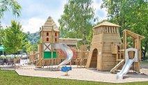 Speeltuin voor de kleine vakantiegangers