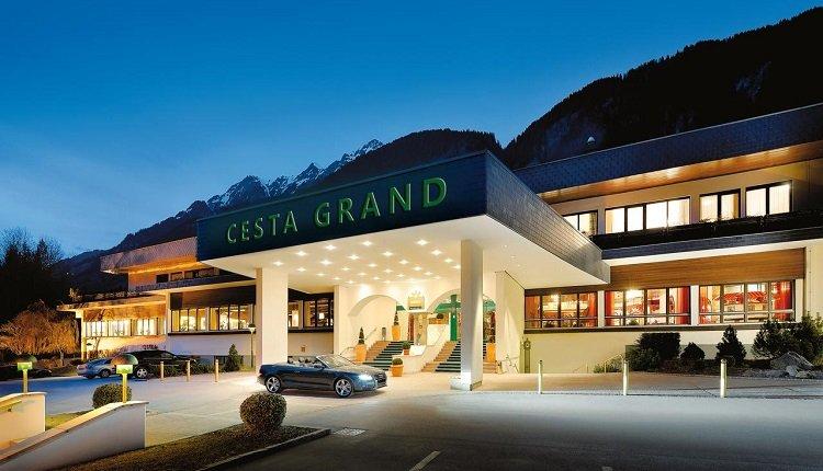 Het prachtige Cesta Grand Hotel Aktiv & Spa