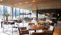 Het restaurant met open keuken