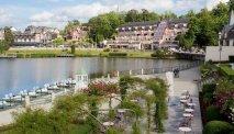 Ligging aan het meer Bagnoles de l'Orne