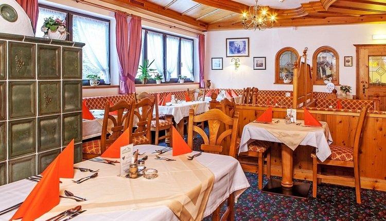 Het restaurant van Alpenhotel Dachstein