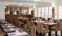 Het restaurant en brasserie