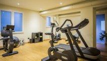 Fitnessruimte van het hotel