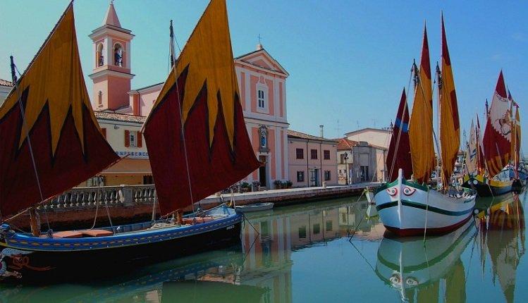 Het historische centrum van Cesenatico
