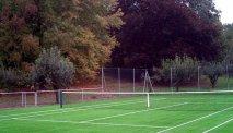 Sportief op de tennisbaan