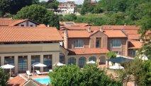 De binnenplaats van Sina Villa Matilde