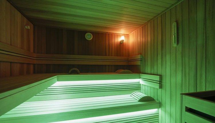 Heerlijk ontspannen in de sauna