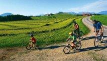 Wagrain is een ideale omgeving om te fietsen