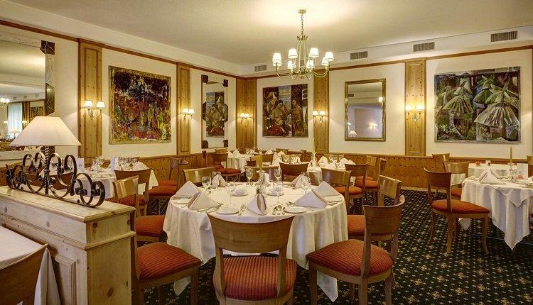 Het gezellige restaurant