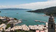 Prachtige ligging van het hotel met zicht vanuit San Lorenzo