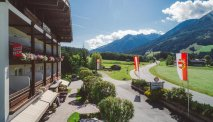 De prachtige omgeving van het hotel