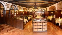 Het heerlijke restaurant van Deutsches Haus