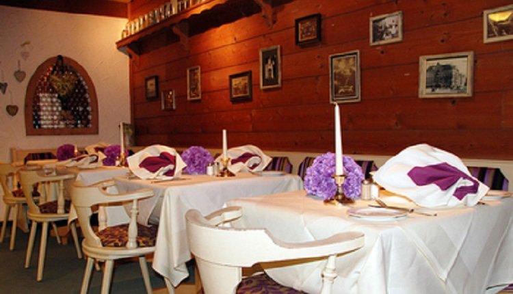 Het restaurant van Hotel Bannwaldsee