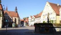 Gasthof Lamm aan het schilderachtige plein