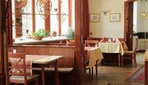 Het restaurant van de Gasthof