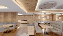 Het restaurant van Hotel Ciampedi