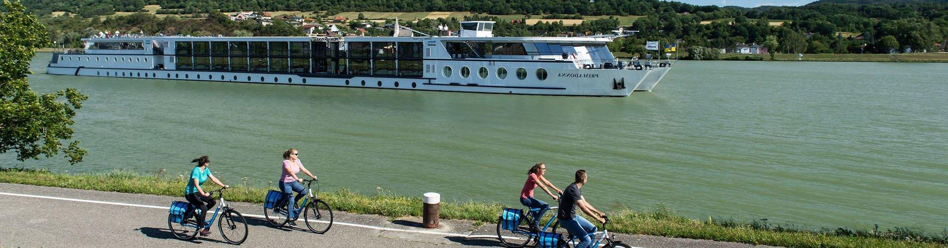 Fietsen langs de Donau
