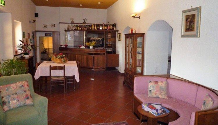 De bar van Hotel La Torretta