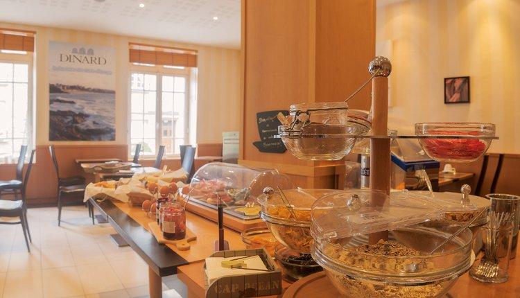 Het ontbijt bij Hotel Balmoral