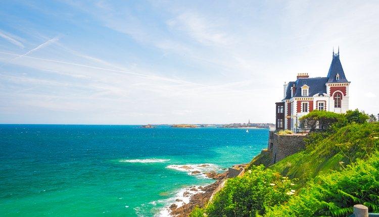 Hotel Balmoral, gelegen aan de prachtige Bretonse kust